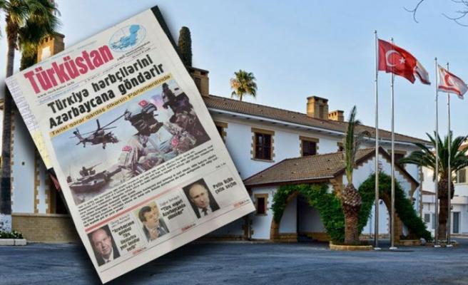 Cumhurbaşkanlığı:KKTC'nin 37'nci kuruluş yıl dönümü, Azerbaycan basınında geniş yer buldu