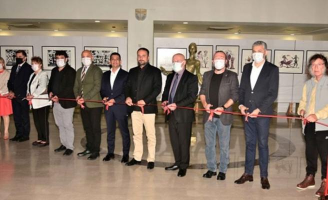 Güzel Sanatlar 15 Kasım Cumhuriyet sergisi açıldı