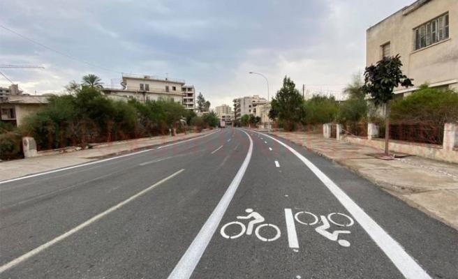 Maraş'a bisiklet yolu yapıldı