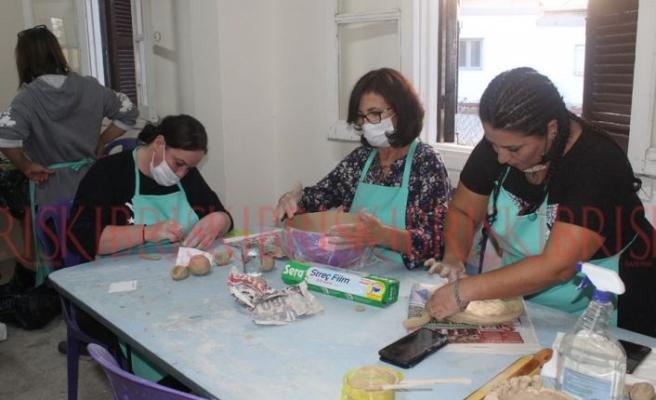 Serdarlı'da seramik kursları başladı