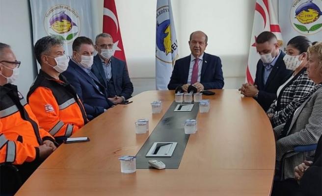 Tatar: Hükümet tüm imkanları ile bölge halkının yaralarını saracak