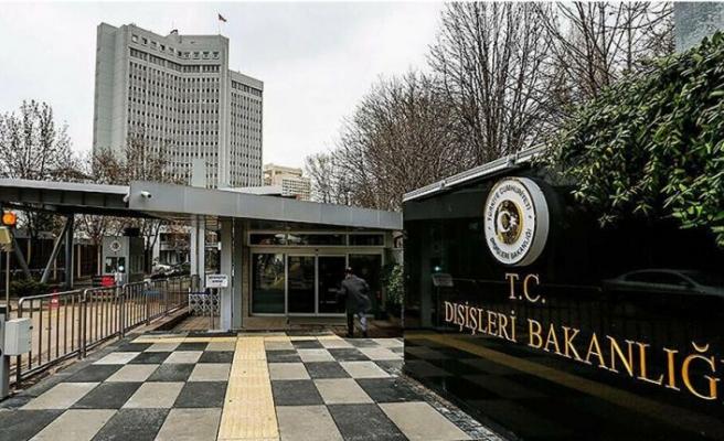 ABD'nin Türkiye'ye yaptırım içeren kararına TC Dışişleri'den kınama