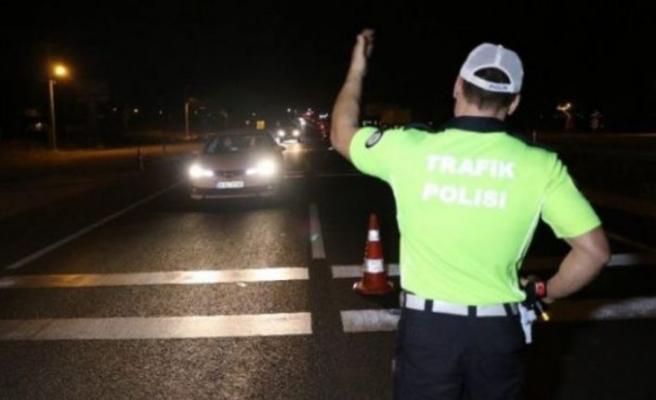 Gazimağusa ve Güzelyurt Polis Müdürlükleri trafik denetimi gerçekleştirdi