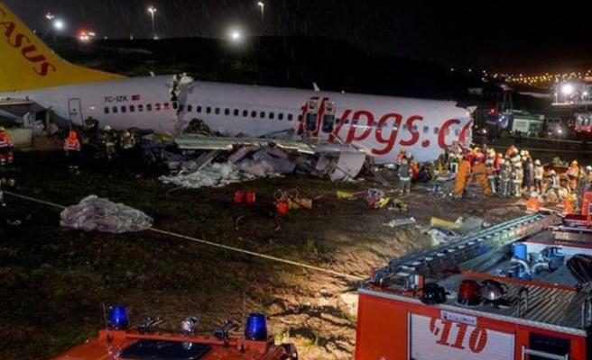 Sabiha Gökçen'deki uçak kazası ile ilgili rapor açıklandı