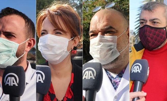 Anadolu Ajansı, Kovid 19 aşı programıyla ilgili KKTC'de vatandaşın nabzını tuttu