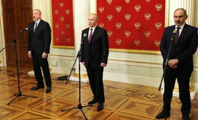Azerbaycan, Rusya ve Ermenistan liderlerinin üçlü zirvesi sona erdi