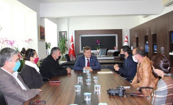 Başbakan Yardımcısı Arıklı Cimnastik Federasyonu'nu kabul etti