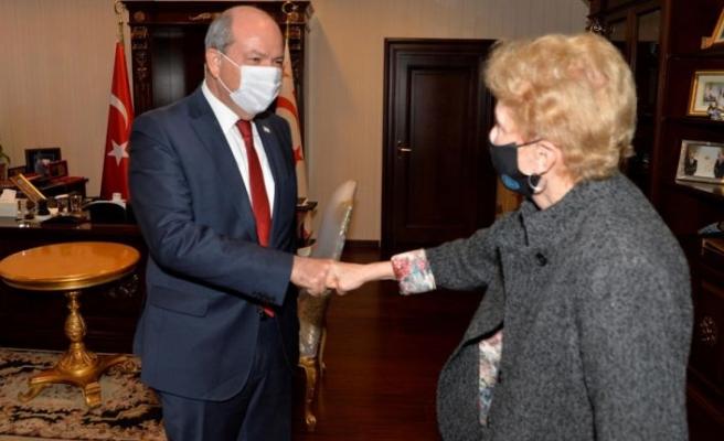 Cumhurbaşkanı Tatar ve BM Üst Düzey Yetkilisi Lute'un görüşmesi tamamlandı