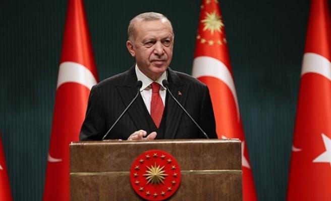 Erdoğan: Türkiye'nin ve KKTC'nin içinde yer almadığı hiçbir denklemden Akdeniz Barışı çıkmayacağı artık anlaşılmıştır