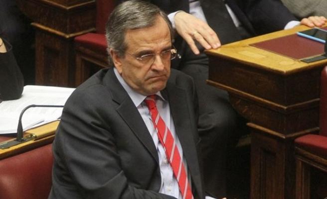 Eski Yunanistan Başbakanı Samaras, istikşafi görüşmelere karşı çıktı