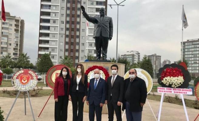 Mersin'de Rauf Raif Denktaş ve Dr. Fazıl Küçük için anma töreni düzenlendi