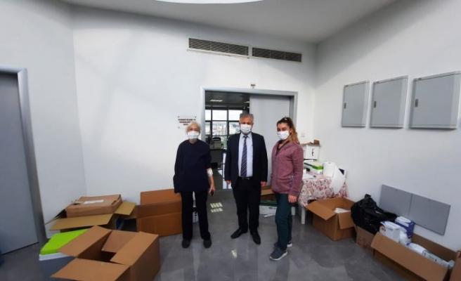Sağlık Bakanı Pilli hastanede incelemelerde bulundu
