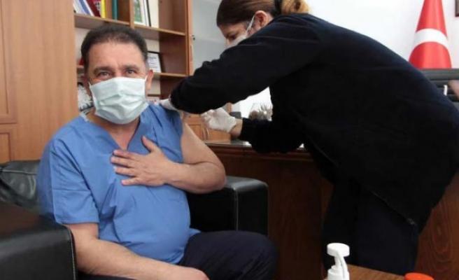 Saner, ikinci doz aşıyı oldu
