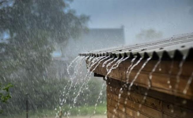 Alsancak bölgesinde metrekareye 60 kilogram yağış…