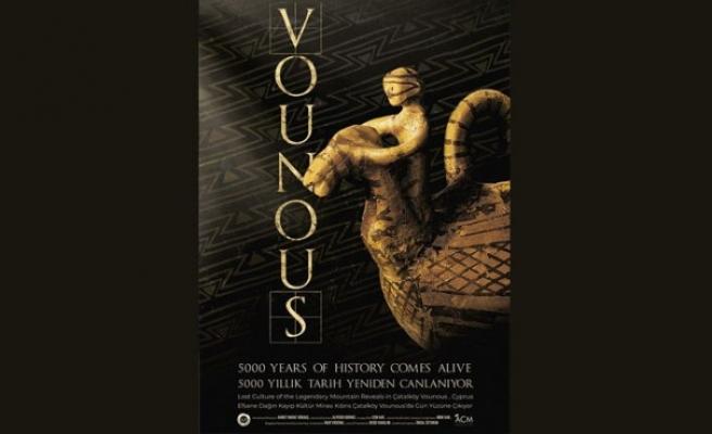 Çatalköy belediyesi tarafından hazırlanan Vounous belgeselinin galası bugün