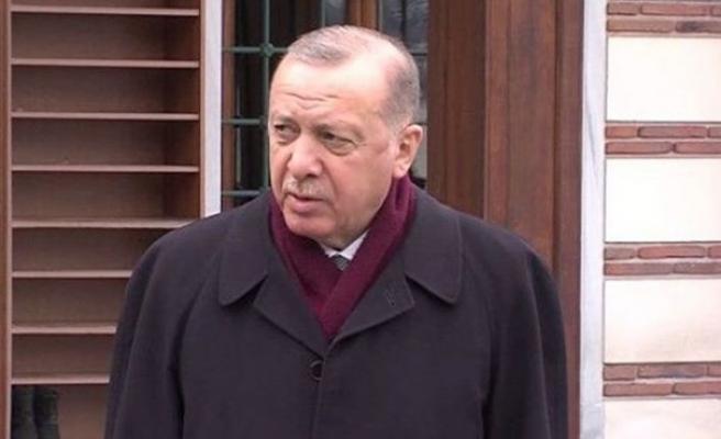 Türkiye Cumhuriyeti Cumhurbaşkanı Erdoğan: Putin çok şık bir yanıt verdi
