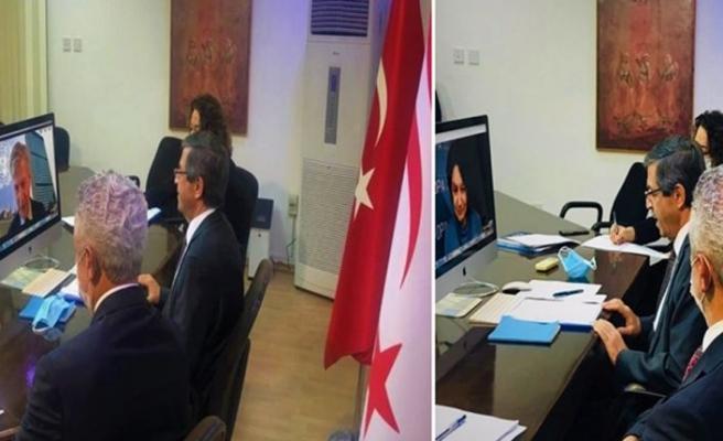 Dışişleri Bakanı Ertuğruloğlu Di Carlo ve Lacroix ile görüştü