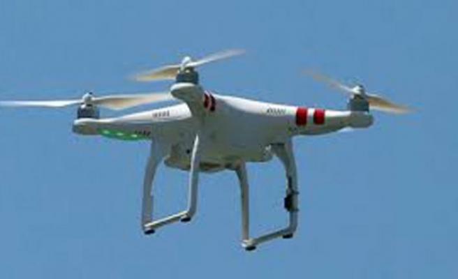 Drona ateş etti, tutuklandı