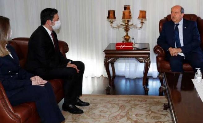 Ersin Tatar: Kıbrıs'ta iki ayrı halk olduğu dünyaya anlatılmalı