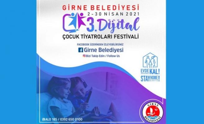 """Girne Belediyesi """"Haydi çocuklar evimizde tiyatro izleyelim"""" temasıyla tiyatro oyunları sunacak"""