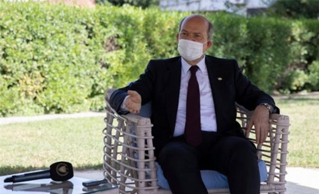 Cumhurbaşkanı Tatar, Akıncı'nın sözlerine tepki gösterdi