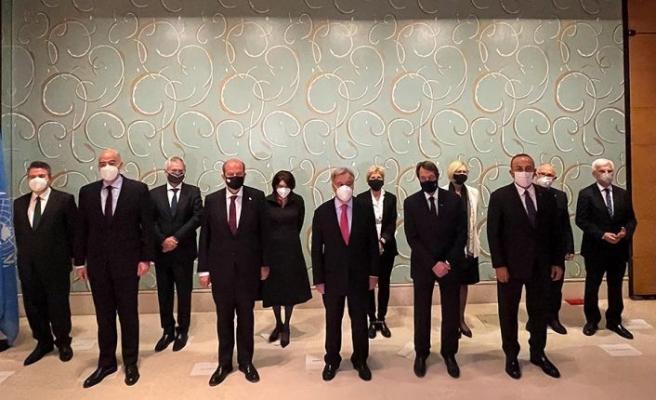 Cumhurbaşkanı Tatar, BM Genel Sekreteri Guterres'in verdiği yemeğe katıldı