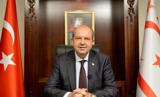Cumhurbaşkanı Tatar, İngiltere'den iki Devletli Çözümü Desteklemesini istedi