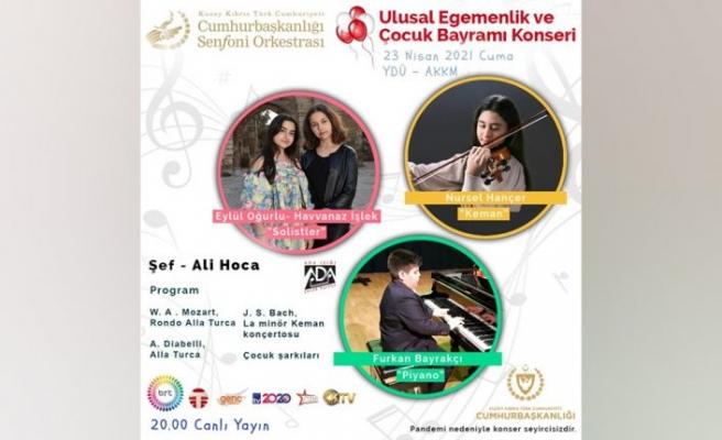 Cumhurbaşkanlığı Senfoni Orkestrası çocuklar İçin çalacak