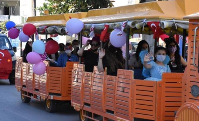 Girne Belediyesi 23 Nisan Etkinliği Düzenledi