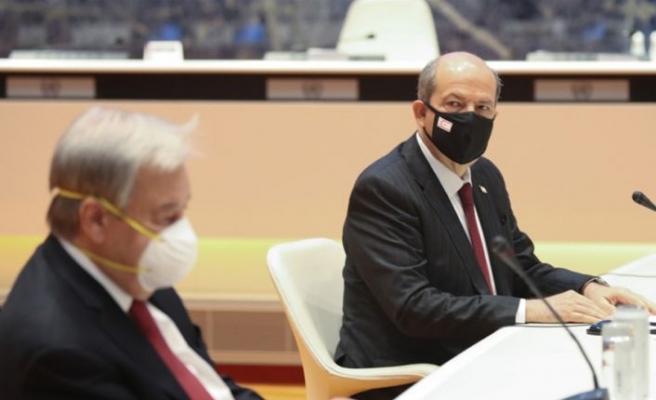 KKTC Cumhurbaşkanı Tatar: Eski şartlarda masaya oturmamız ve resmi görüşmelere başlamamızın anlamı olmaz