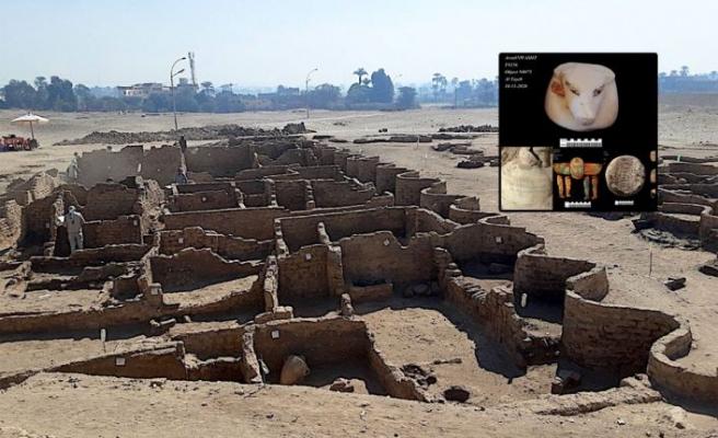 Mısır'ın 3 bin yıllık kayıp altın şehri bulundu