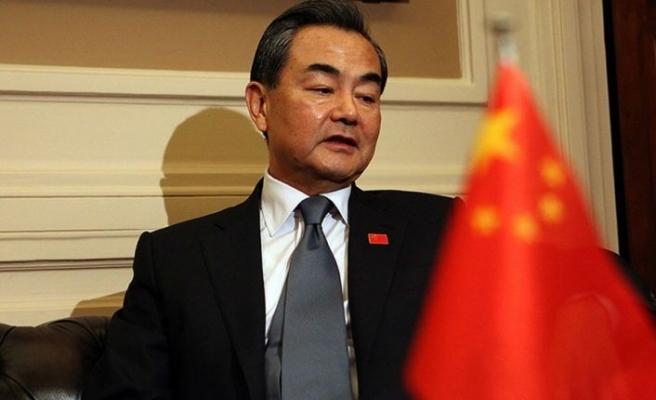 Çin Dışişleri Bakanı Vang, Filistin meselesinde iki devletli çözümden yana olduklarını yineledi