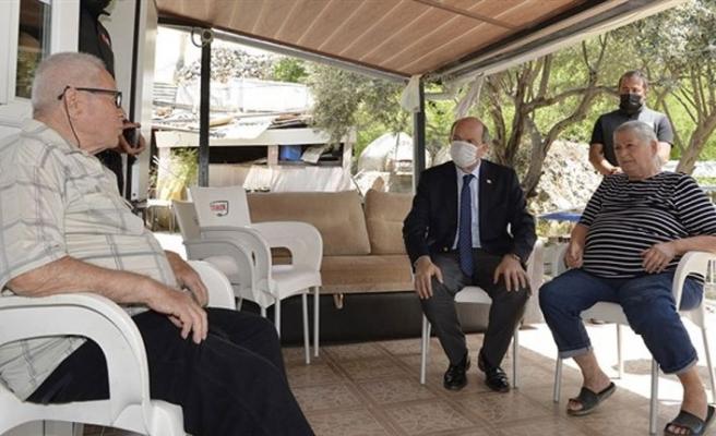 Cumhurbaşkanı Tatar: İsteğimiz halkımızın barış, huzur ve güvenlik içerisinde yaşaması