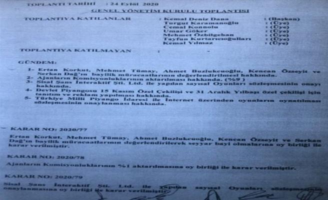 Ekonomi Bakanlığı: Piyangolarla ilgili protokol geçmiş hükümet döneminde yapıldı