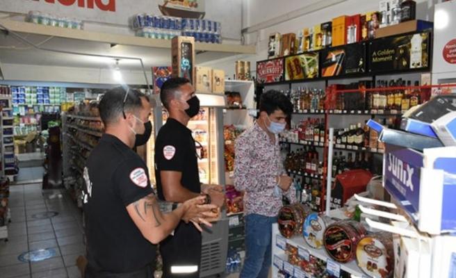 Girne'de gıda hijyeni ve Covıd-19 denetimleri sürüyor