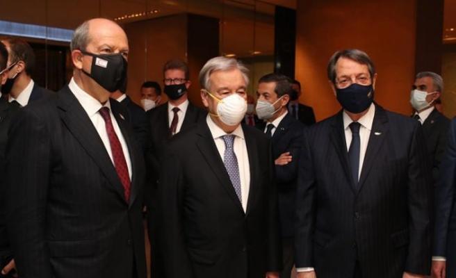 Guterres, Kıbrıs sorunu Prosedürüyle ilgili farklı senaryolar üstünde çalışıyor