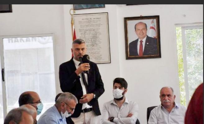 Karadeniz Kültür Derneği'nin 15. Olağan Genel Kurulu Gazimağusa Dernek Genel Merkez binasında gerçekleştirildi