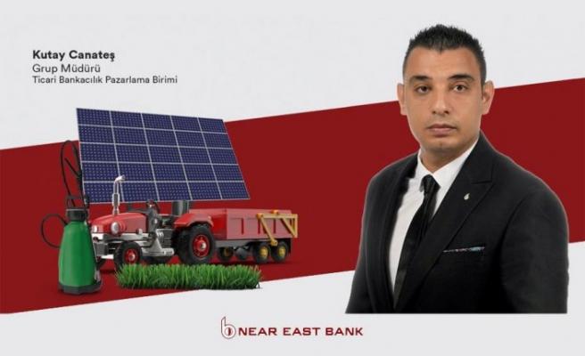 Near East Bank tarım işletmelerinin ekipman ihtiyaçları için Zirai Ekipman Destek Kredisi hazırladı