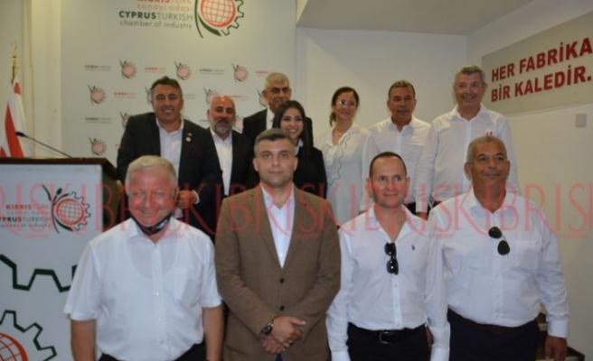 Sanayicilerden 'değişim' ve 'hizmet'mesajı; Yeni Başkan Kamacıoğlu