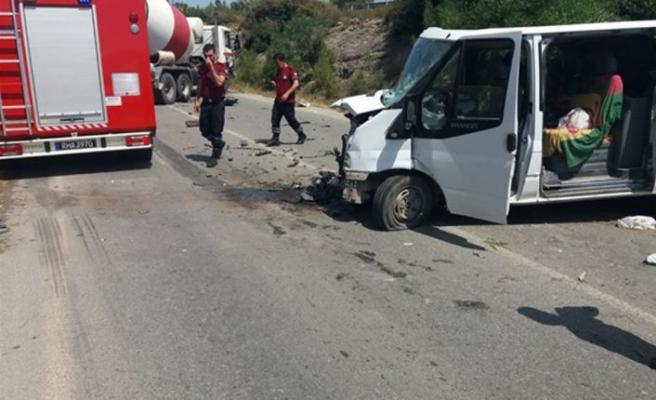 Tatlısu-Girne ana yolundaki kazada 3 yaralı