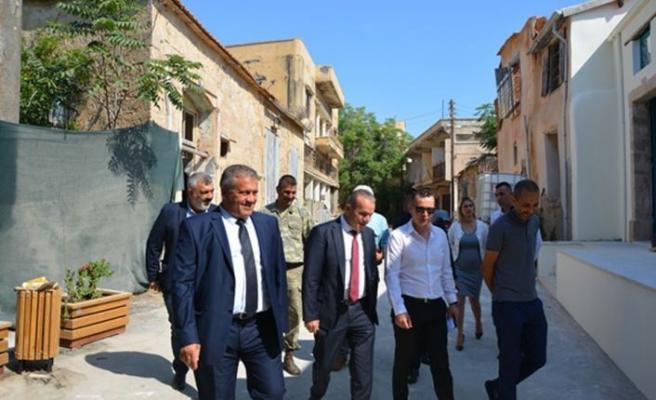 Ataoğlu, Arter ile Kapalı Maraş'taki çalışmaları inceledi