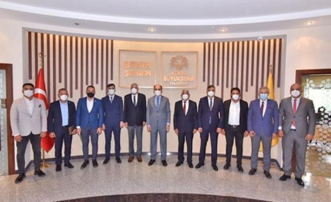 Beledıyeler Birliği, Konya'daki temaslarını tamamladı