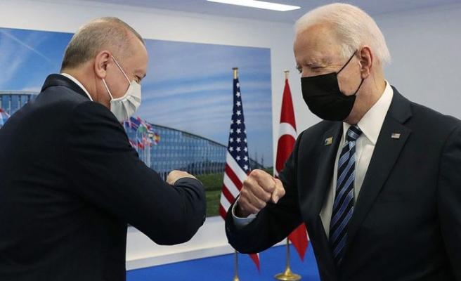 Recep Tayyip Erdoğan ve ABD Başkanı Joe Biden görüştü