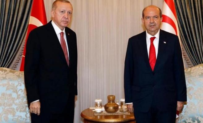 """Cumhurbaşkanı Tatar; """"TC Cumhurbaşkanı Erdoğan tarihi gerçekleri bir kez daha gözler önüne serdi"""