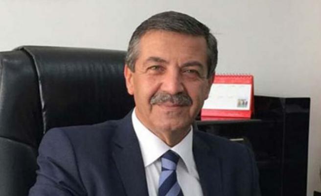 """Dışişleri Bakanı Ertuğruloğlu'ndan, """"Kıbrıs görüşmelerinde 53 yıl daha kaybetme lüksümüz yok"""" mesajı"""