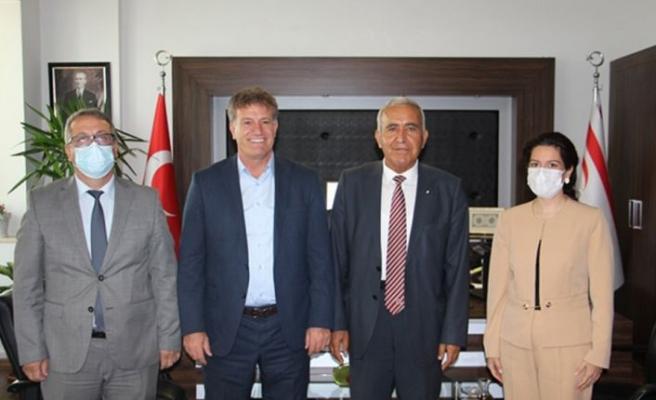 Ekonomi Bakanı Arıklı İTÜ rektörünü kabul etti