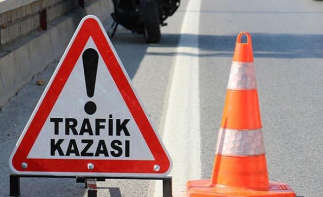 Gazimağusa- LefkoşaAnayolu'ndazincirleme kaza