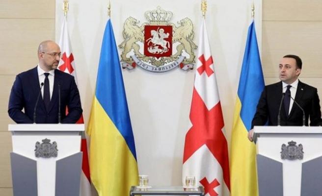 """Gürcistan ve Ukrayna'dan """"Rusya tehdidi""""ne karşı iş birliği"""