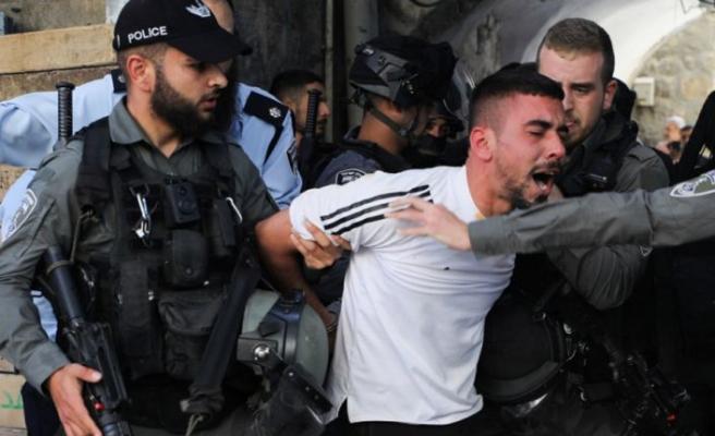 İsrail Güçleri Mayıs ayında 3 bin 100 Filistinliyi gözaltına aldı