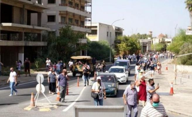 Kapalı Maraş'ı 150 bin kişi ziyaret etti